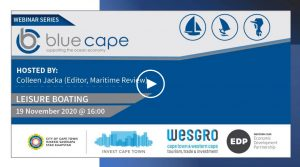 BlueCape Webinar Series – Leisure boating   Hosted by Colleen Jacka
